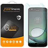 [3-Pack] Supershieldz for Motorola Moto Z Play / Moto Z Play Droid Tempered Glass Screen Protector, Anti-Scratch, Anti-Fingerprint, Bubble Free, Lifetime Replacement Warranty