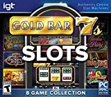 Encore Games IGT Slots Gold Bar 7's 8-Pack