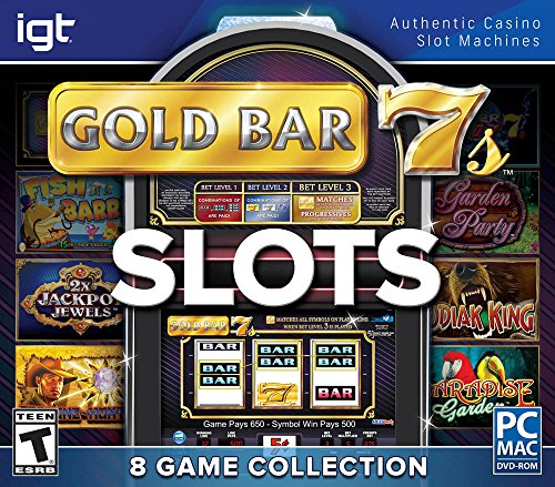Encore Games IGT Slots Gold Bar 7's 8-Pack by Encore Games