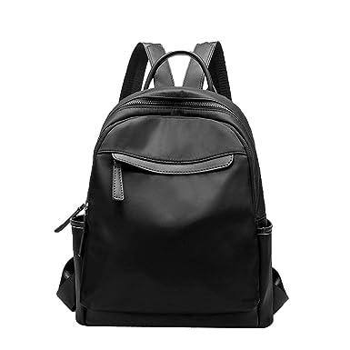 15aacfca150c Amazon.com: Kin Backpack Women Trend Leisure Bag Student Bag Oxford ...