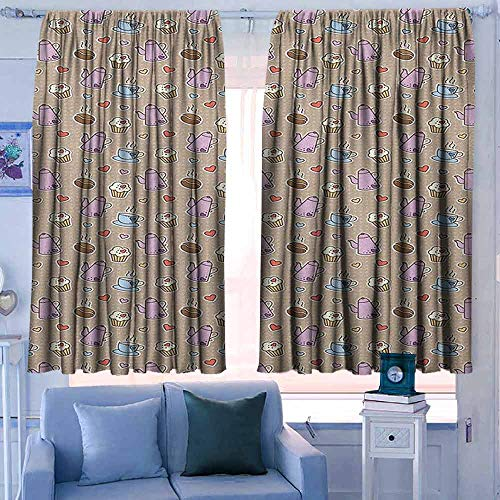 Lovii Curtain Panels Set of 2 52