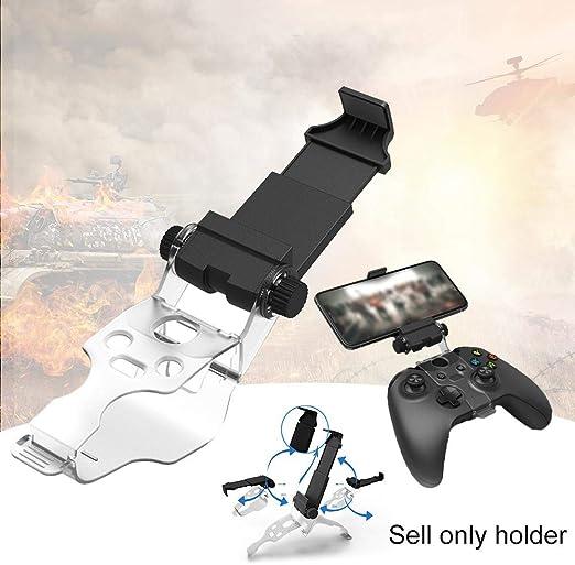 Chen0-super Game Controller Gamepad Holder Clip Mount Cradle Extensible Soporte para teléfono móvil Abrazadera, Smartphone Juego Abrazadera para Slim X Controller: Amazon.es: Hogar
