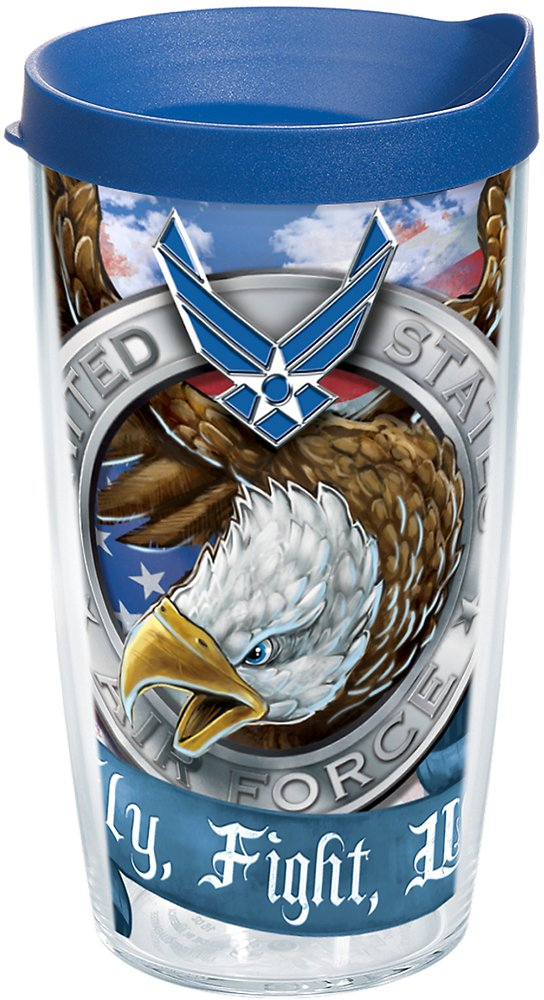 Tervis 1160641 Air Force Eagle Tumbler with Wrap