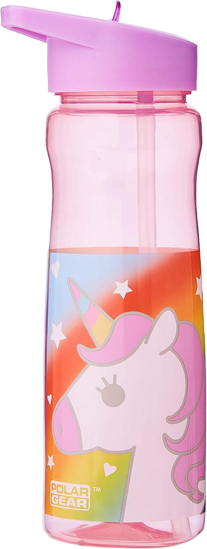 Polar Gear - Botella Deportiva (Polipropileno, 600 ml), Color Rosa