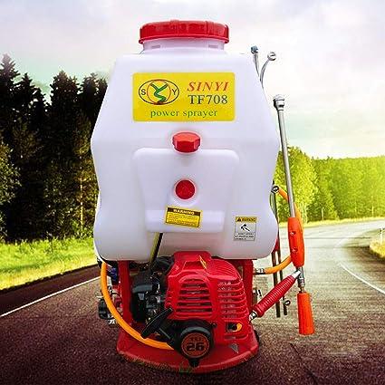 Amazon.com: Mochila de gas agrícola, rociador de gasolina ...
