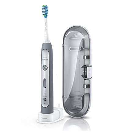 Philips Sonicare Flexcare Platinum Non-Connected Electric Rechargeable Toothbrush, Grey