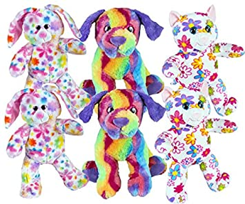 fc519e092f7 Splodge Teddy Bear Making Parties - 6 x 8 quot  Build a Colourful Pets Party  Pack