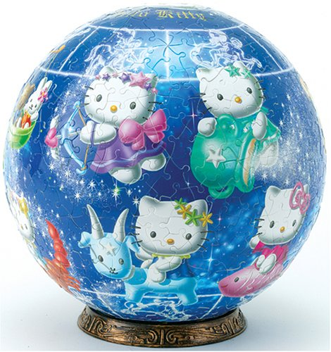 3D球体パズル ハローキティ 540ピース 星物語 ハローキティ【光るパズル】 3D球体パズル (直径約22.9cm) (直径約22.9cm) B0002YNMIQ, エナスクエア:95d05e4f --- sharoshka.org