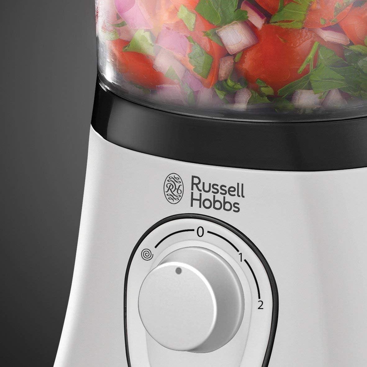Russell Hobbs Aura 19005-56 - Procesador de alimentos de 600 W con ...
