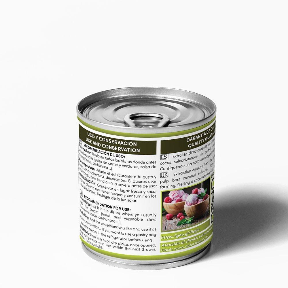 Naturseed - Nata de coco ecológica Premium para cocinar, sin ...