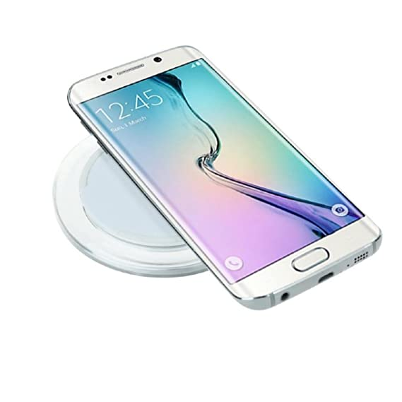 Amazon.com: Galaxy S7/S7 Edge Wireless Charger, Lookatool Qi ...