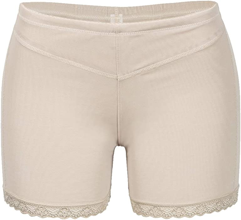 a68730d14ad FLORATA Women Hip Lifting Underpants Butt Lifter Booster Booty Panty Push  Up Buttock Shapewear Beige