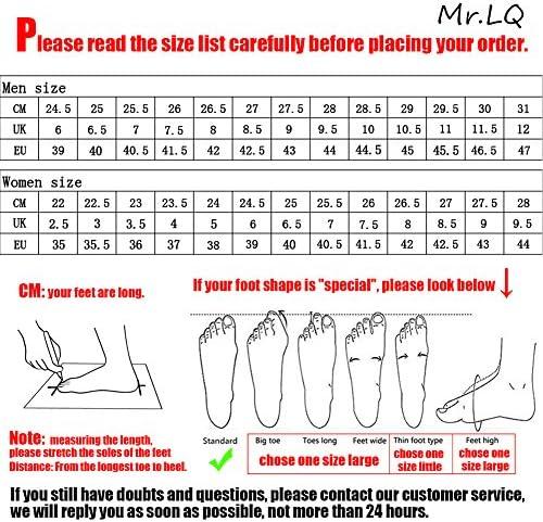 Mr.LQ Toile Femmes Fads Personnalité PU Double Flèche Lace-Ups Chaussures De Skateboard De Mode,Black,40 EU