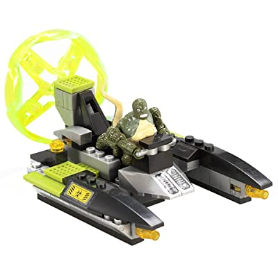 Mega Bloks Lizard Man Sewer Speeder: Toys & Games