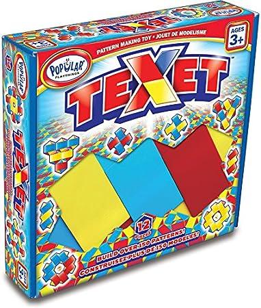 Popular Playthings - Texet, Juego de Mesa (PP18005): Amazon.es: Juguetes y juegos