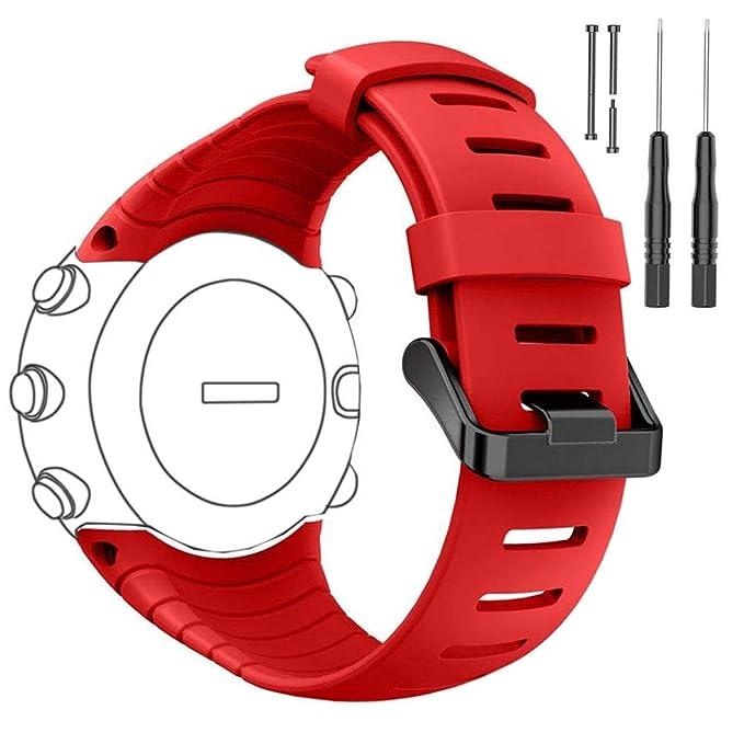 8 opinioni per Per Suunto Core orologio cinturino di ricambio, dB colorato morbido cinturino di
