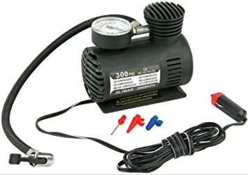 Amazon.es: Inflador compresor de aire portátil, miniatura 12 V 250PSI para neumático de coches, bicicletas