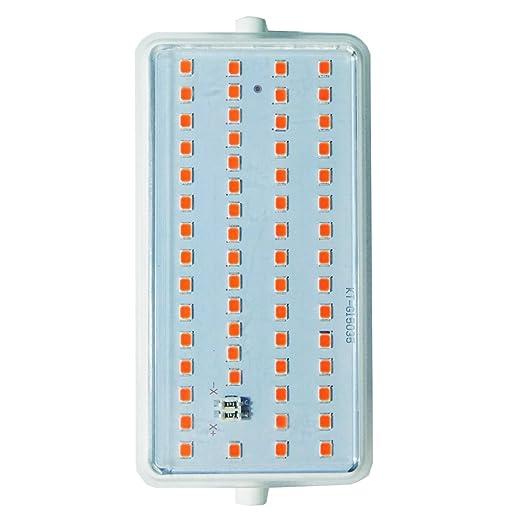 LightED J118 RG Bombilla LED 30K R7s, 15 W, Blanco, 118 x 55