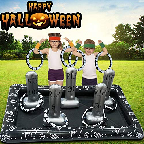 Classroom Games For Halloween - Ring Toss Game for Kids and