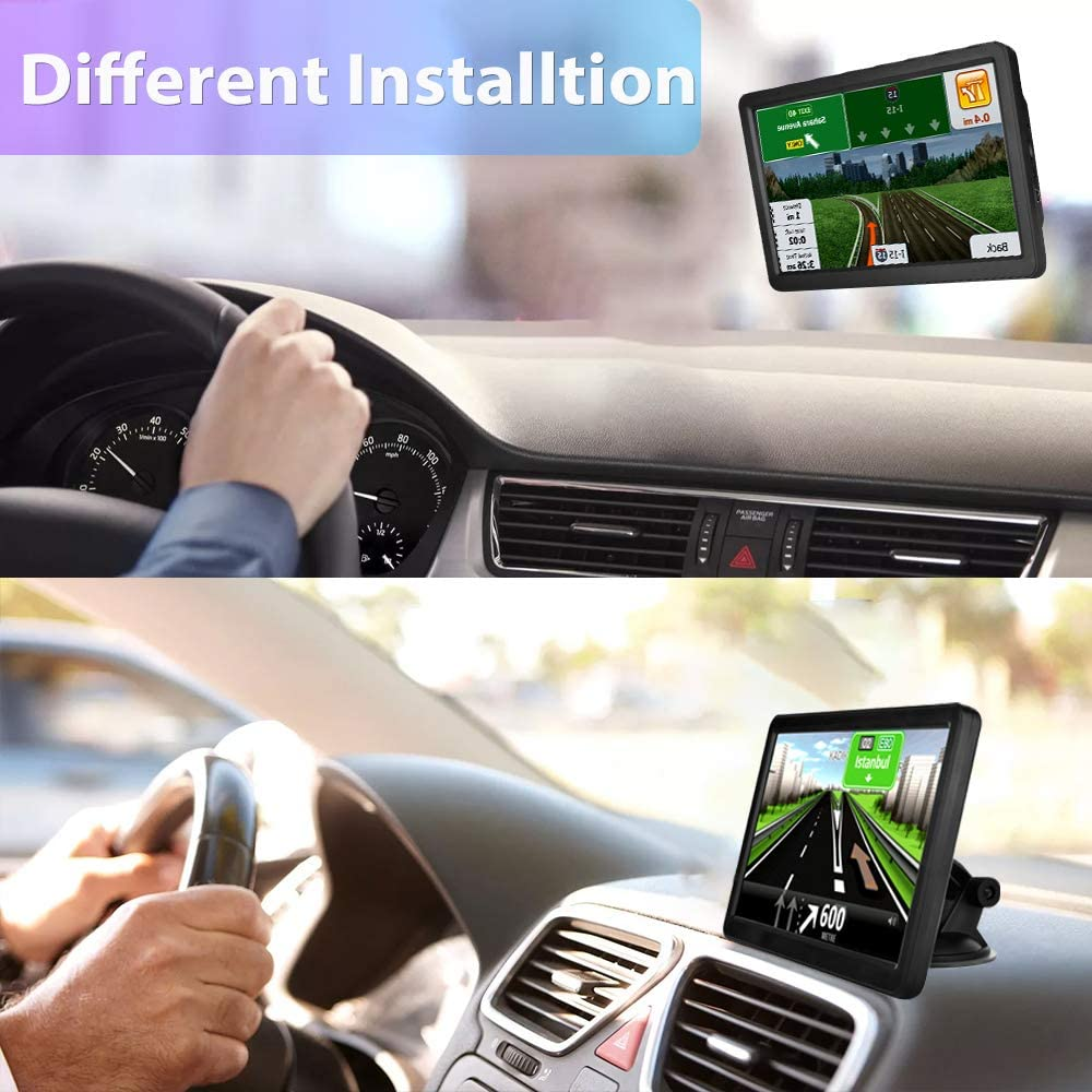 GPS Navigation for Car Truck 9 inch Big Touchscreen Car Navigation ...