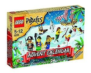 pirates advent calendar lego set 6299 2009. Black Bedroom Furniture Sets. Home Design Ideas