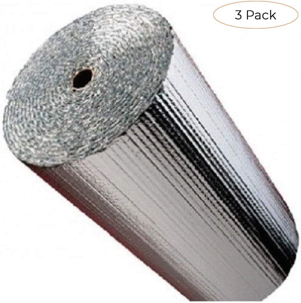 x 10-Ft. Reflectix BP48010 Reflective Insulation Double Bubble Foil 48-In
