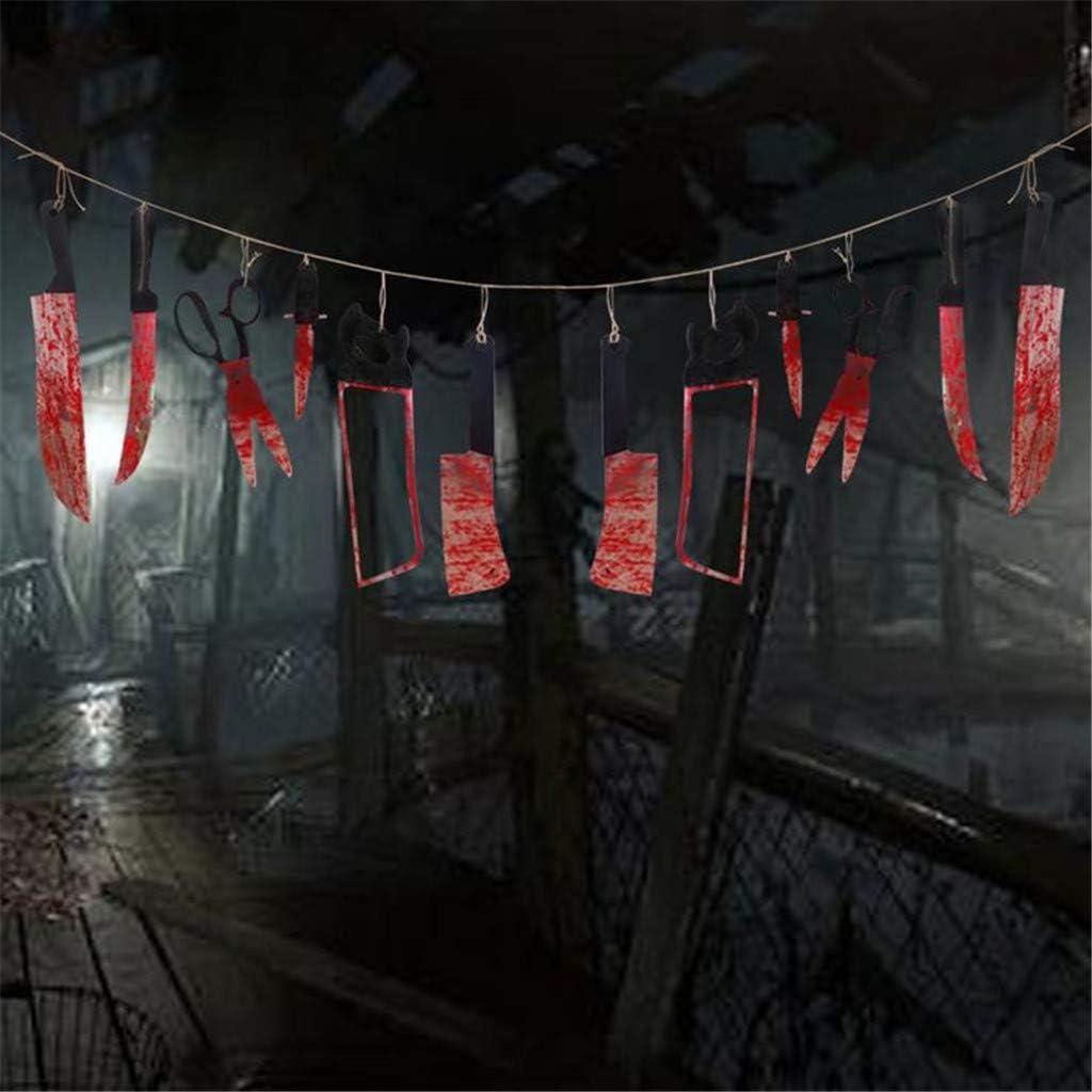 Kuerqi Halloween haunted house decoration Spoof Horror