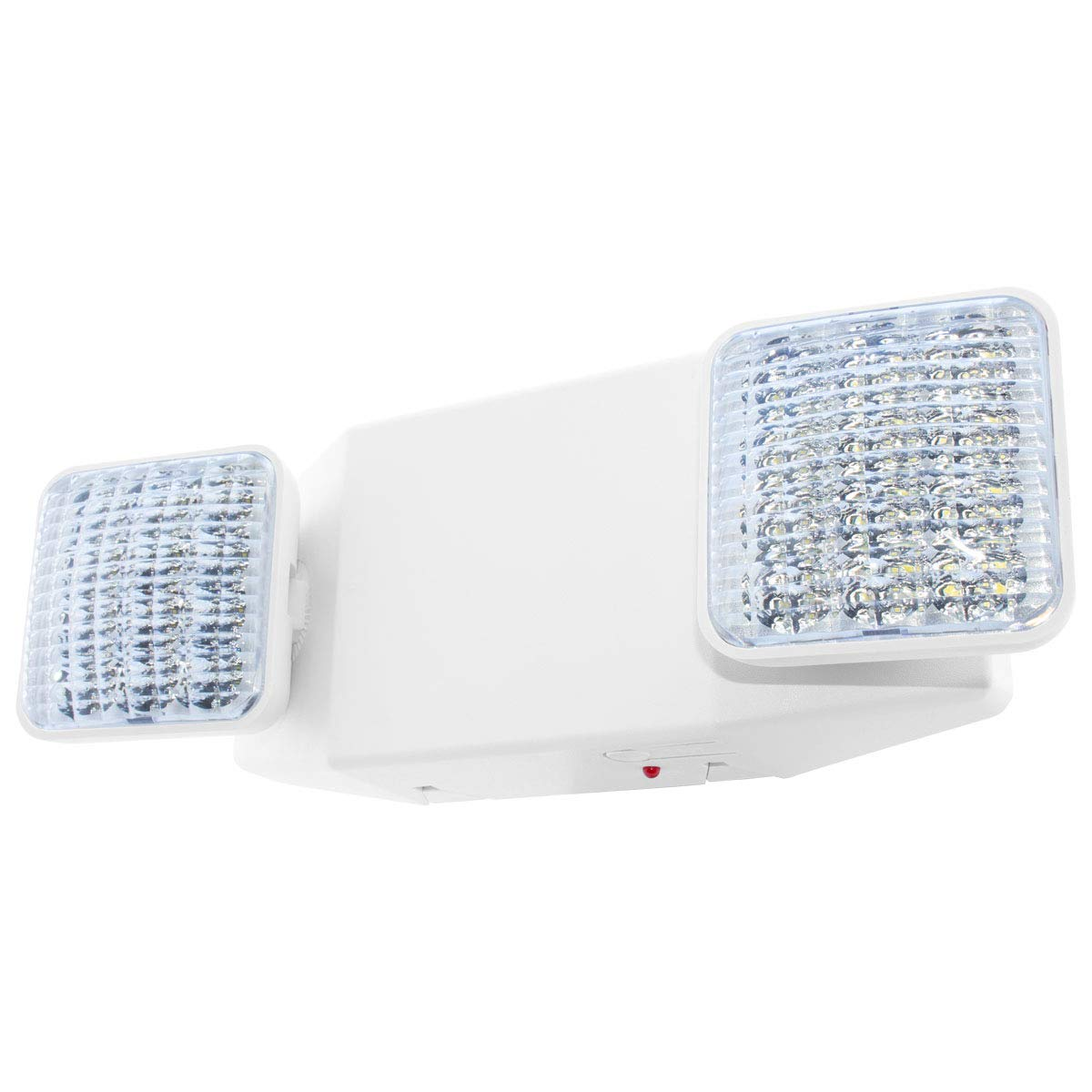 Lfi lights ul certified hardwired led standard emergency light square head elw2
