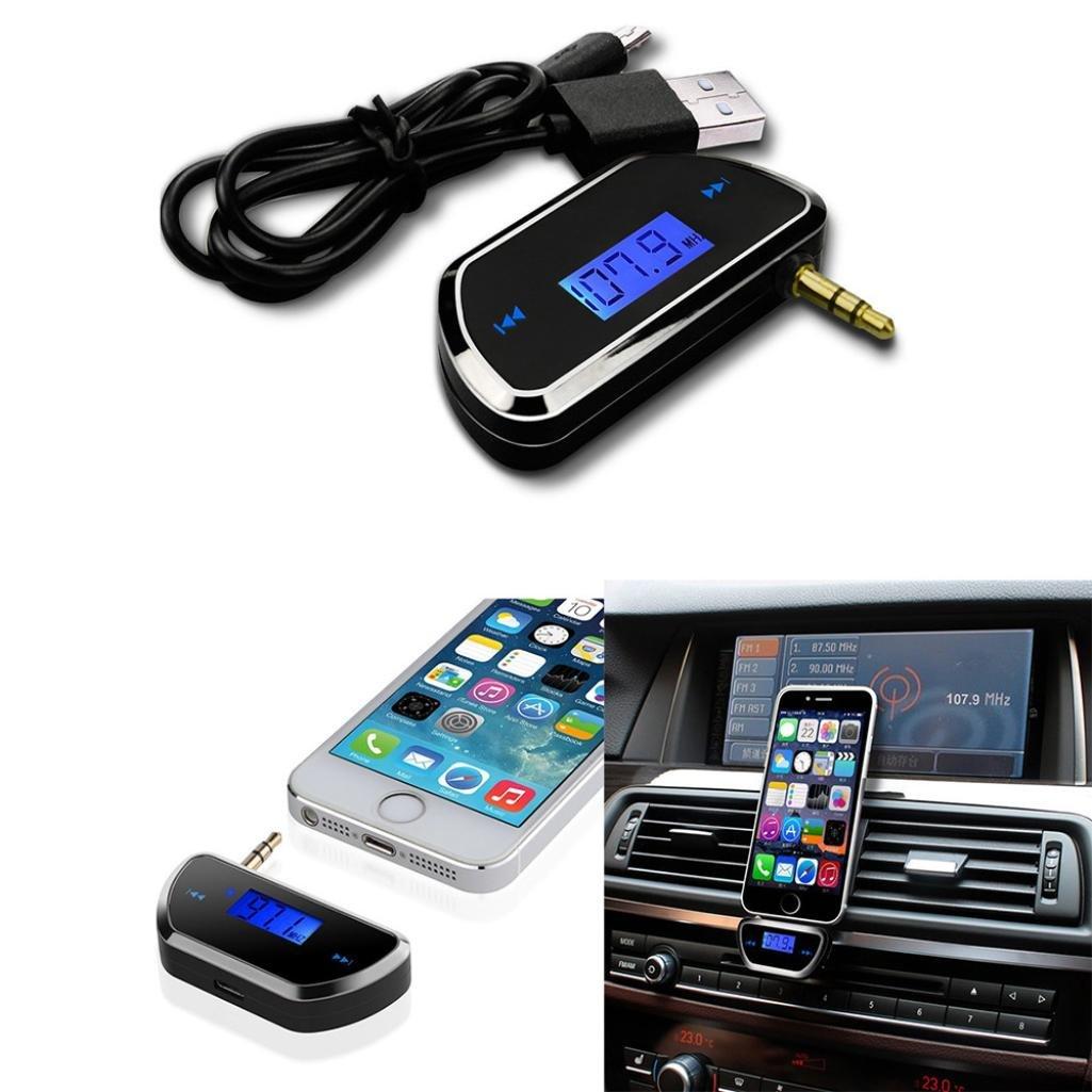 Gaddrt Bluetooth Car kit vivavoce AUX ricevitore audio Player mani libere  altoparlante b42ebe9368fe