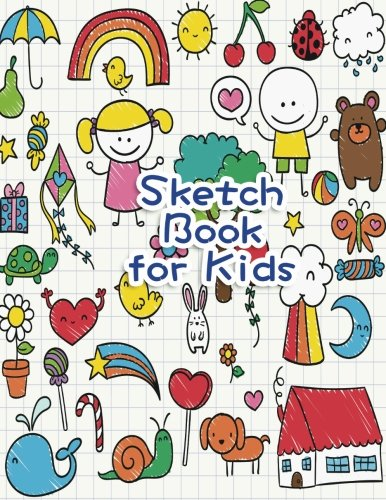 "Sketch Book for Kids: Blank Paper for Drawing, Doodling or Sketching - 100+ Large Blank Pages (8.5""x11"") for Sketching, Drawing Anything Kids Like and Improving Drawing Skills (Volume 2) [Sarah Garza] (Tapa Blanda)"