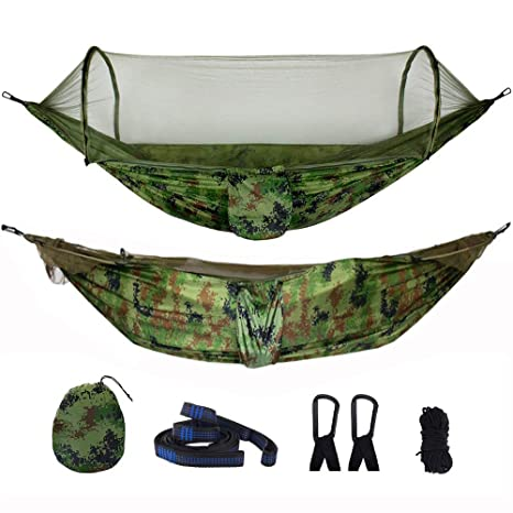 Camping Hammock Jungle Mosquito Tent Survival Quality Hiking Army Military Light