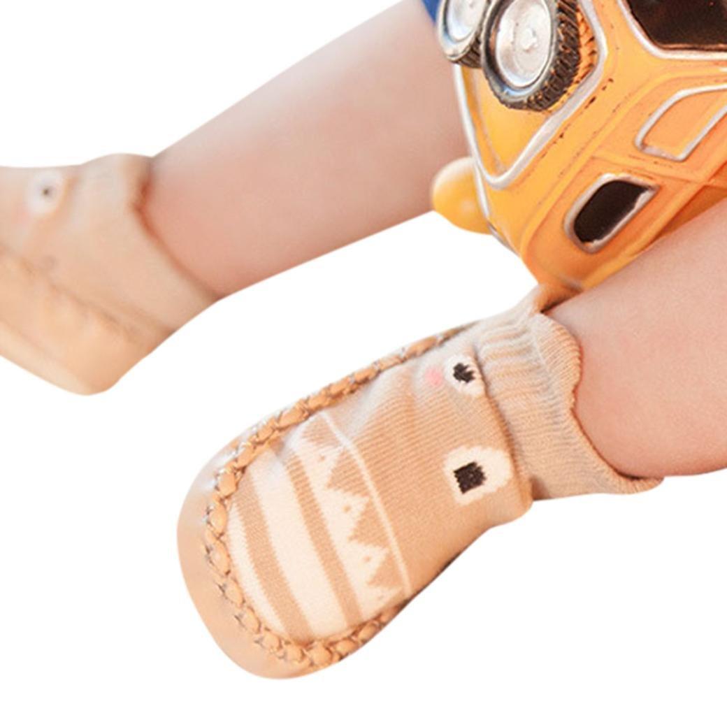 a805ce3ba K-youth® Invierno Bebé Niñas Niños Indoor Zapatillas Piso Calcetines Patrón  De Dibujos Animados Calcetines ...