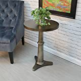 Chatham Metal Accent Table in Antique Bronze