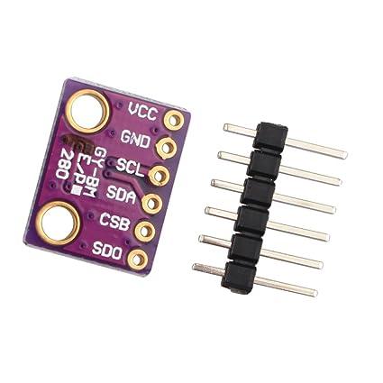 CAOLATOR BME280 Bosch Módulo de Sensor Digital de Presión Barométrica, Módulo de Sensor de Presión
