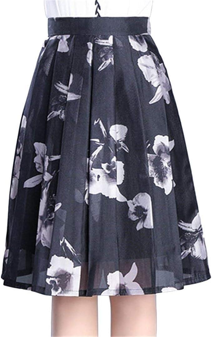 Faldas De Mujer Primavera Elegante para Mujer Verano Moda Falda ...