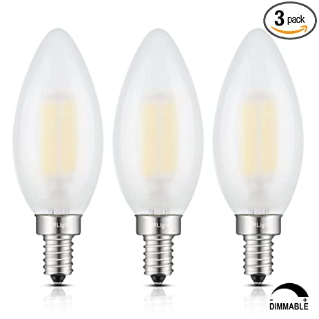 Led candelabra bulb 6w 4000k daylight neutral white 60w crlight led candelabra bulb 6w 4000k daylight neutral white 60w equivalent 600lm e12 base dimmable led candle aloadofball Choice Image