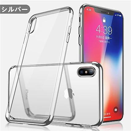 Amazon.com: iPhone X funda transparente suave TPU iPhone 7/8 ...