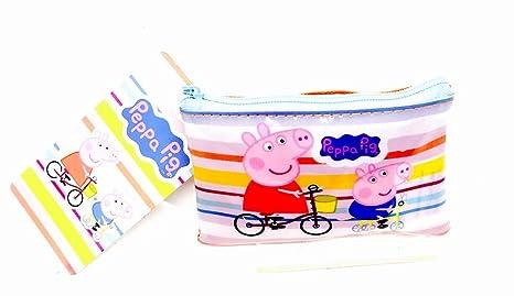 Peppa Pig PVC bolso de mano Monedero con cremallera tipo ...