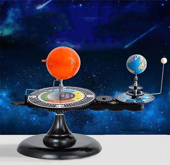 CHUXUE Sistema Solar Sol Tierra Luna Órbita Planetario Modelo ...