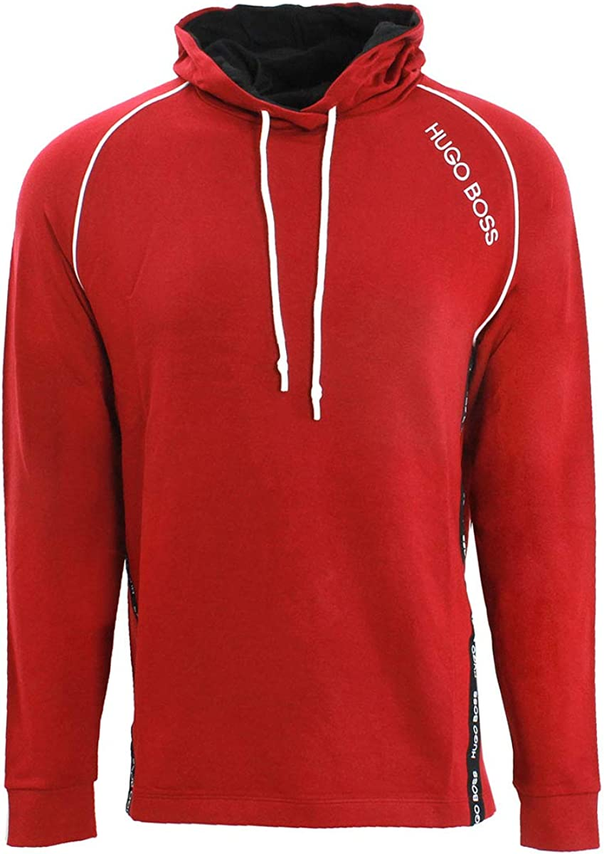 Hugo Boss Hooded Sweatshirt in French Terry with Logo 50414690 609
