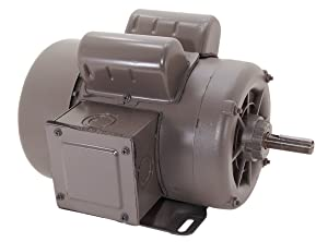 A.O. Smith C314 1-1/2 HP, 1800 RPM, 1 Speed, 1.15 Service Factor, 56 Frame, Manual Protector, TEFC Enclosure Farm Duty Motor