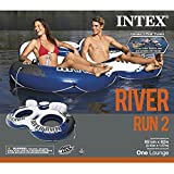 "Intex 58837EP River Run II Sport Lounge, Inflatable Water Float, 951/2"" x"