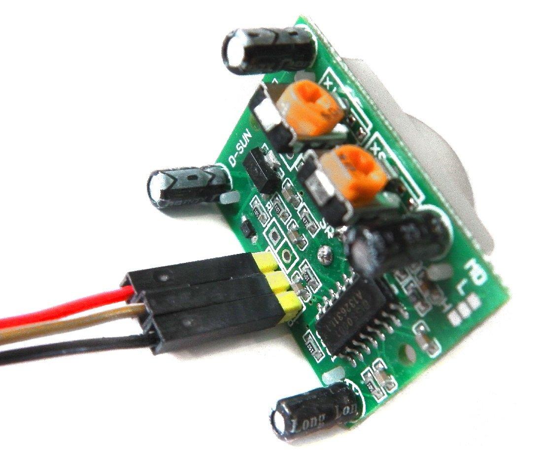 Sensor PIR de movimiento HC-SR05 arduino uno, mega, Raspeberry: Amazon.es: Informática