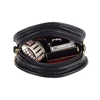 Amazon.com: Bolso bandolera elegante con diseño de calaveras ...