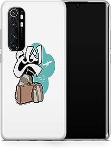 covery cases Silicon Back Cover For Xiaomi Mi Note 10 Lite - Multi Color , 2725609601073