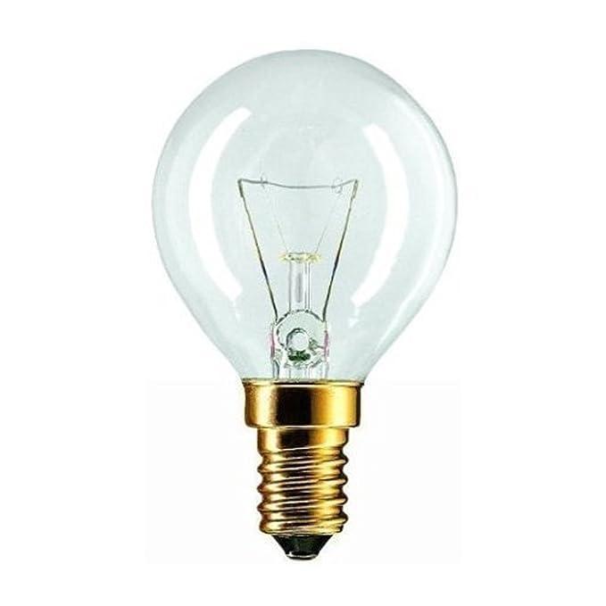 Philips - Bombilla forno 40 W lampadina SES E14 Tapón de tornillo ...