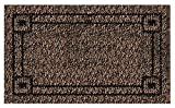 Grassworx Clean Machine Metro Doormat, 18'' x 30'', Black Forest (10371832)