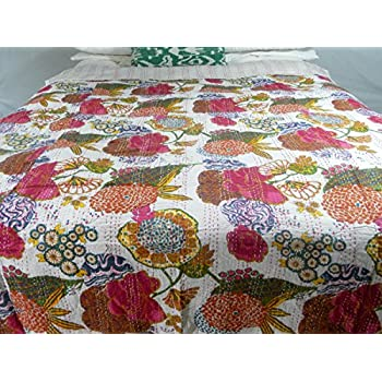Amazon.com: Designer Bedspreads Tropical Quilts Coverlets