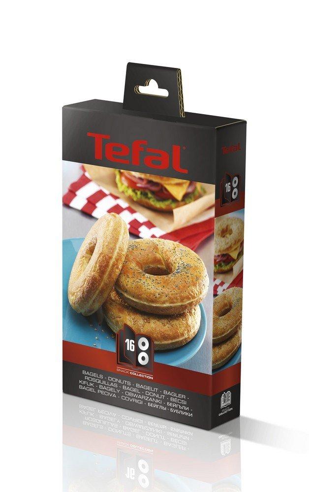 Tefal XA801612 Snack Collection - Piastre per ciambelle