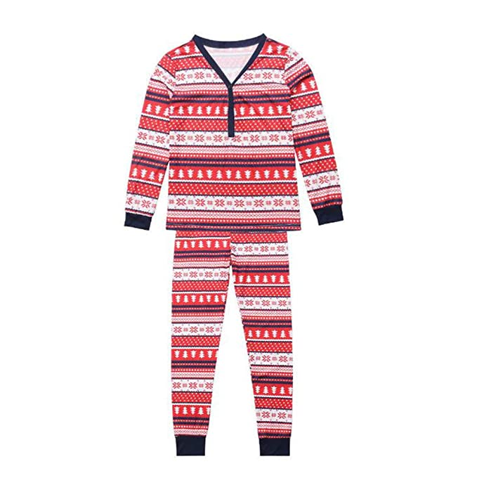 Huateng Juegos De Pijamas De Manga Larga De Padre Hijo De Navidad